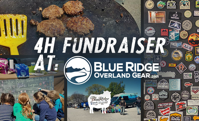 4-H Lamburger Fundraiser at Blue Ridge Overland Gear