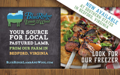 Our Grassfed Lamb Meats Now at Southern States in Bedford