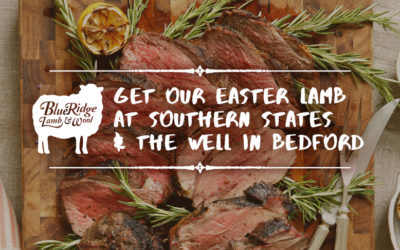 Lamb Cuts Available at Southern States and The Well in Bedford