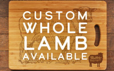 Get Your Custom Whole Lamb Today